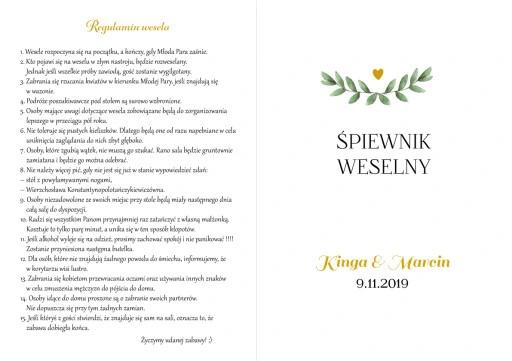 Spiewnik Weselny Polskie Przeboje Zloto Zielony 8381013423 Oficjalne Archiwum Allegro