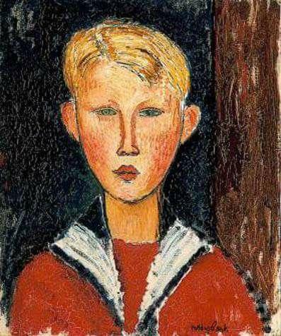 Amadeo Modiglianl, pintor y escultor.