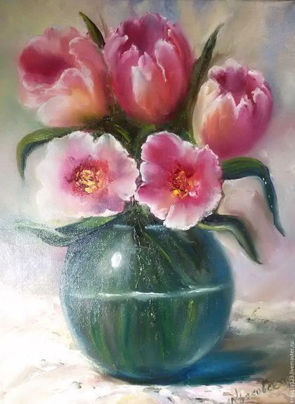 Fotos de flores hechas a mano.  Masters Feria - hecho a mano.  Comprar ramo transparente.  Hecho a mano.  Regalo rosado, chica