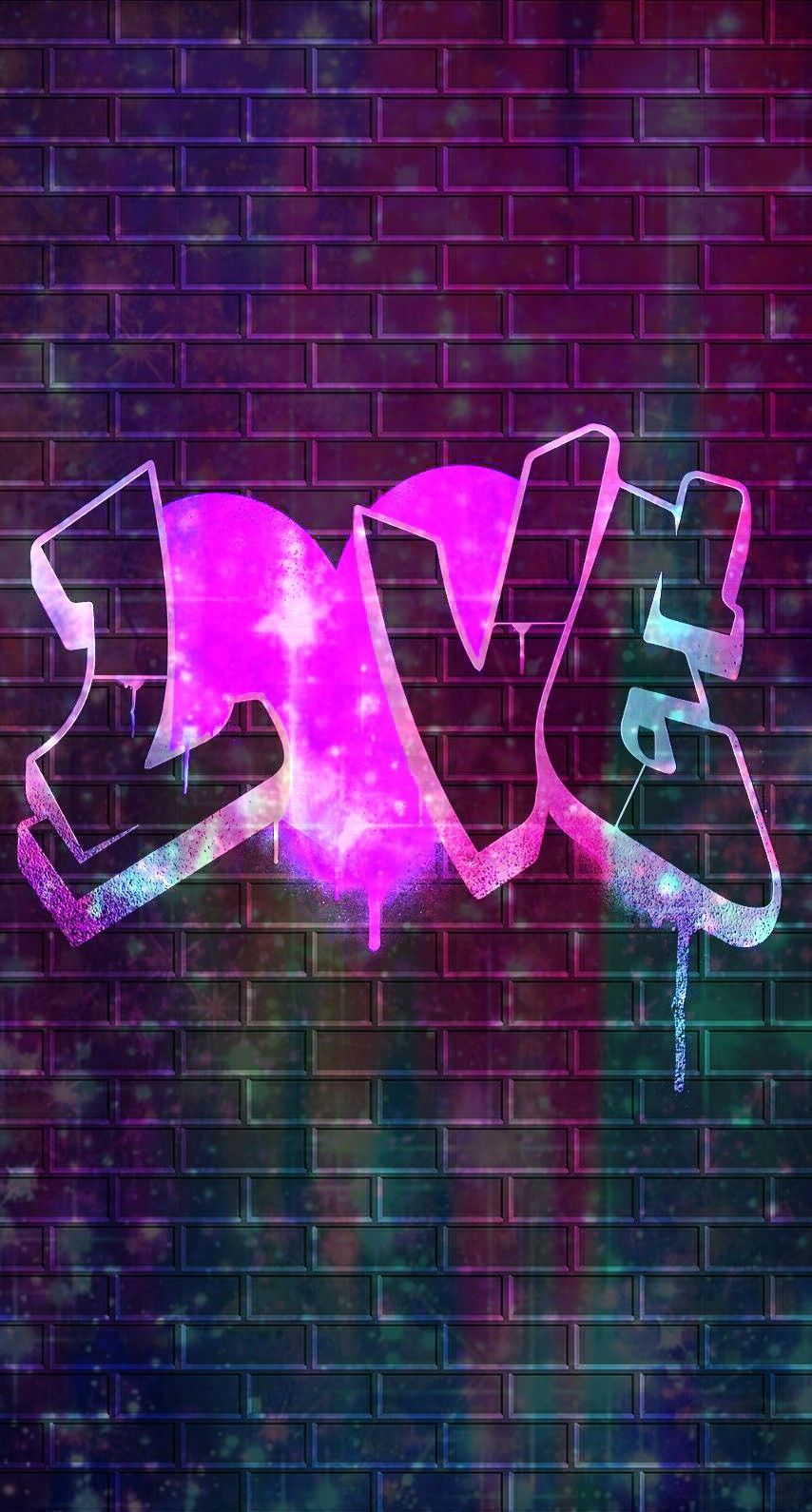 Galaxy love graffiti made by me purple sparkly wallpapers backgrounds glitter sparkles galaxy love blue glittery