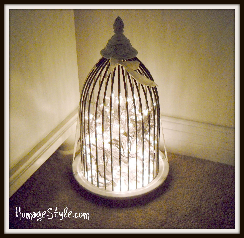a cage decorative birdcage lamp creating home bird