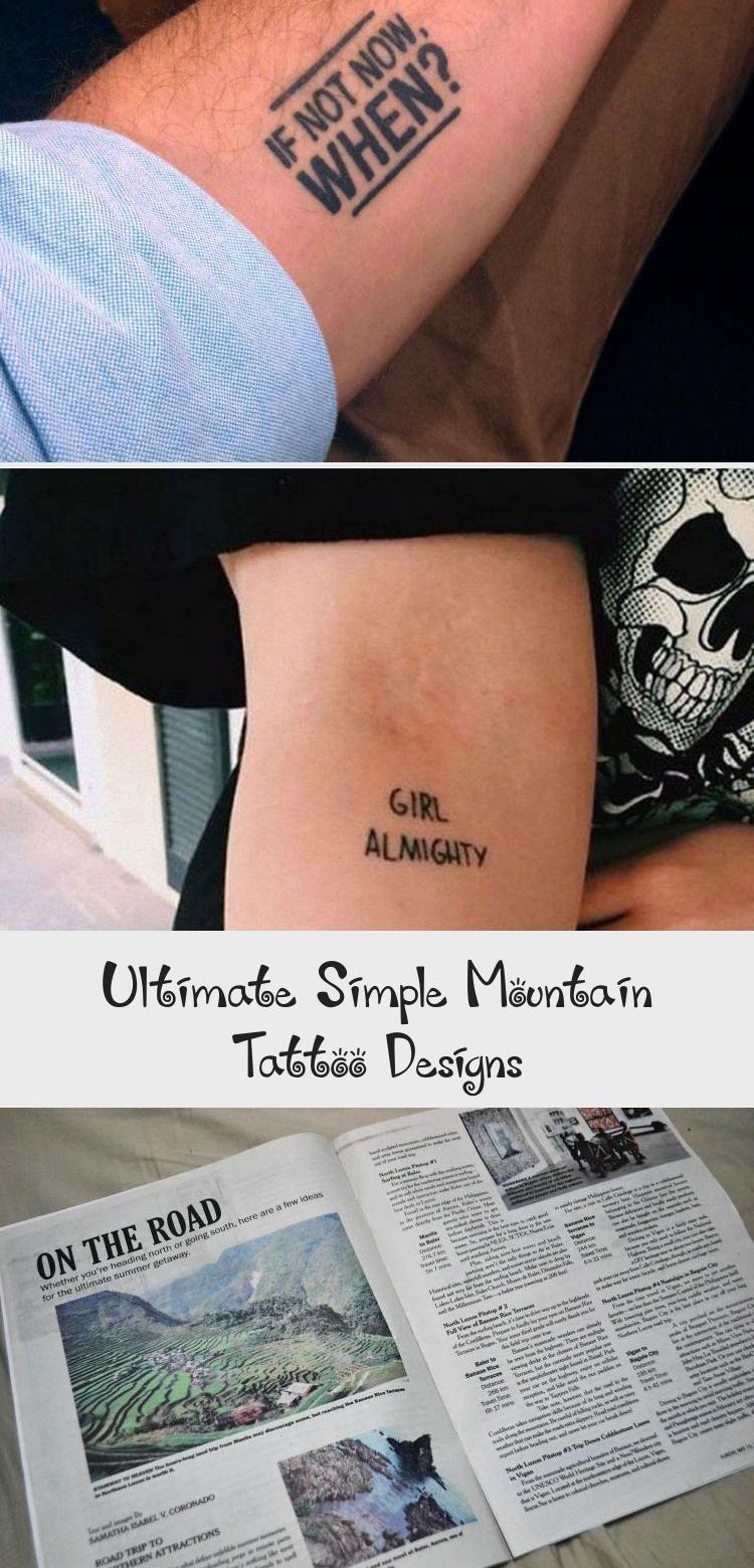 Photo of Ultimative einfache Mountain Tattoo Designs Frisch der ultimative Leitfaden für Mountain Tat …