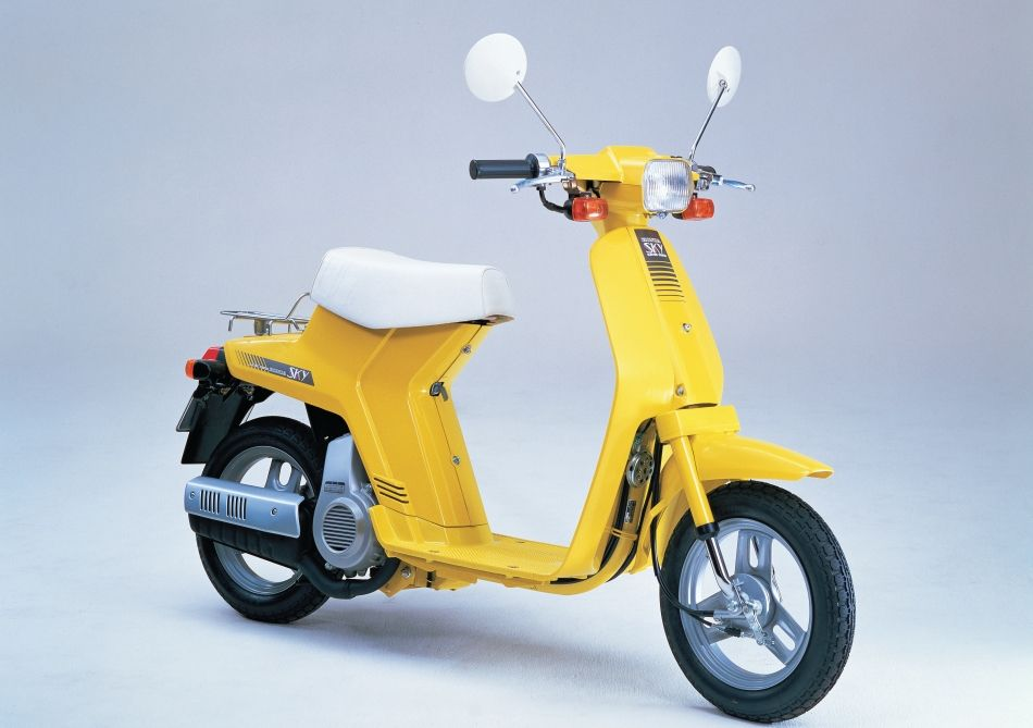 honda sky vehicle honda honda scooters 50cc moped. Black Bedroom Furniture Sets. Home Design Ideas