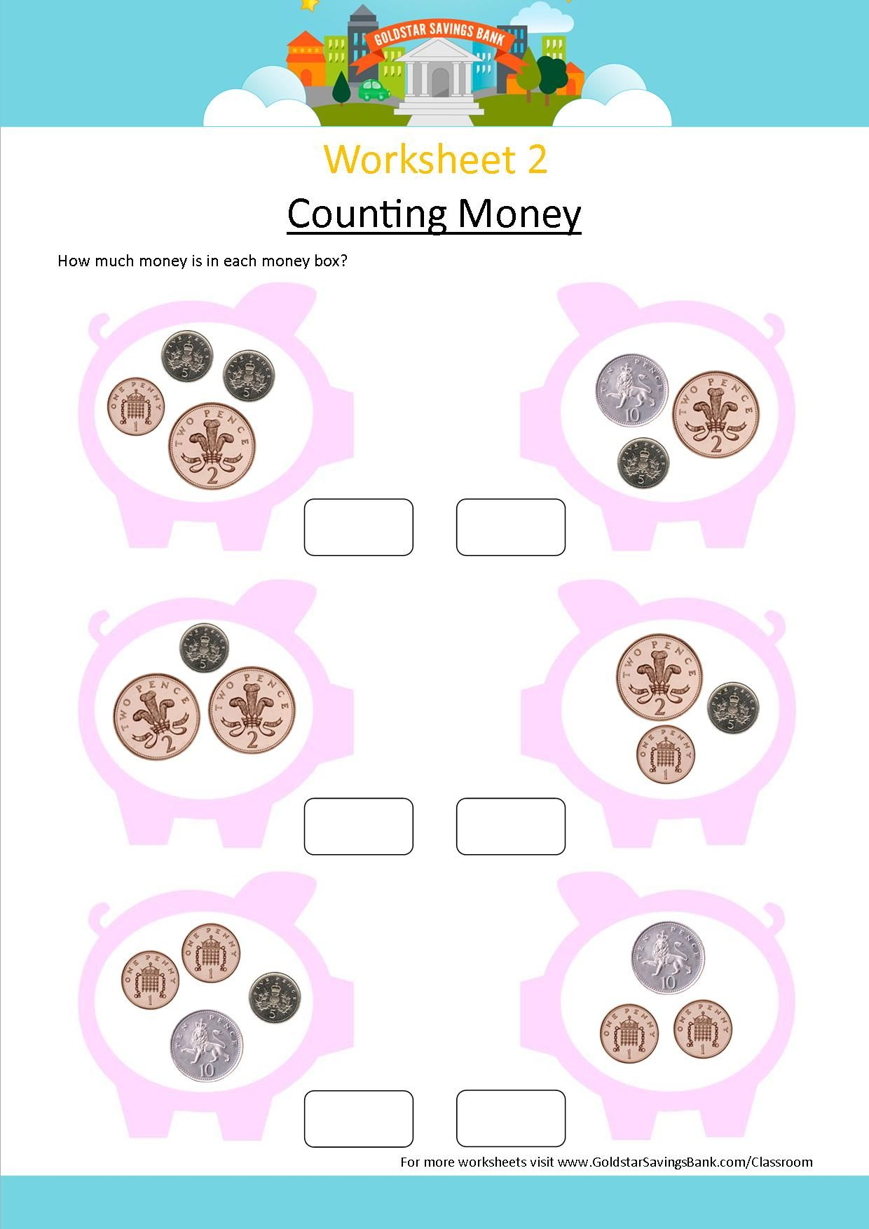 Goldstar Savings Bank Worksheet 2