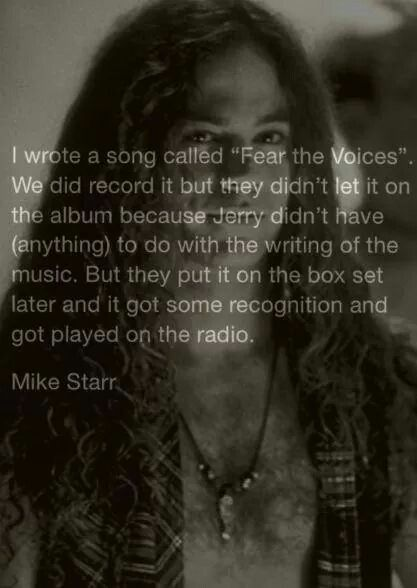 Pin By Teresa Yarbrough On Alice In Chains Mike Starr Alice In