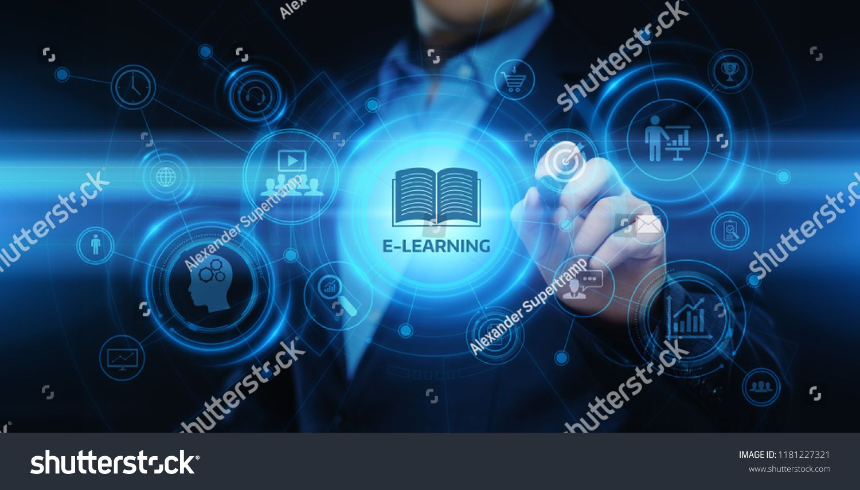 E Learning Education Internet Technology Webinar Online Courses Concept Ad Affiliate Internet Technology Learning Elearning Internet Technology Webinar