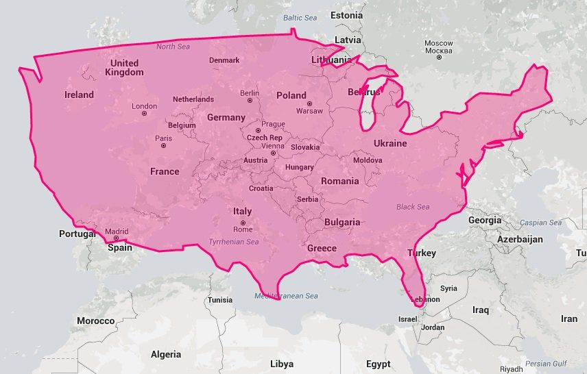 True size map will change everything you think about world geography true size map will change everything you think about world geography gumiabroncs Choice Image
