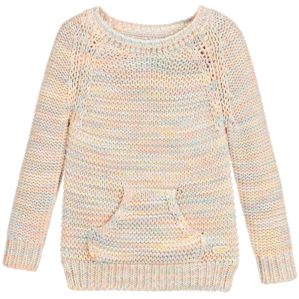 Girls Chunky Cotton Knit Sweater | Kids online