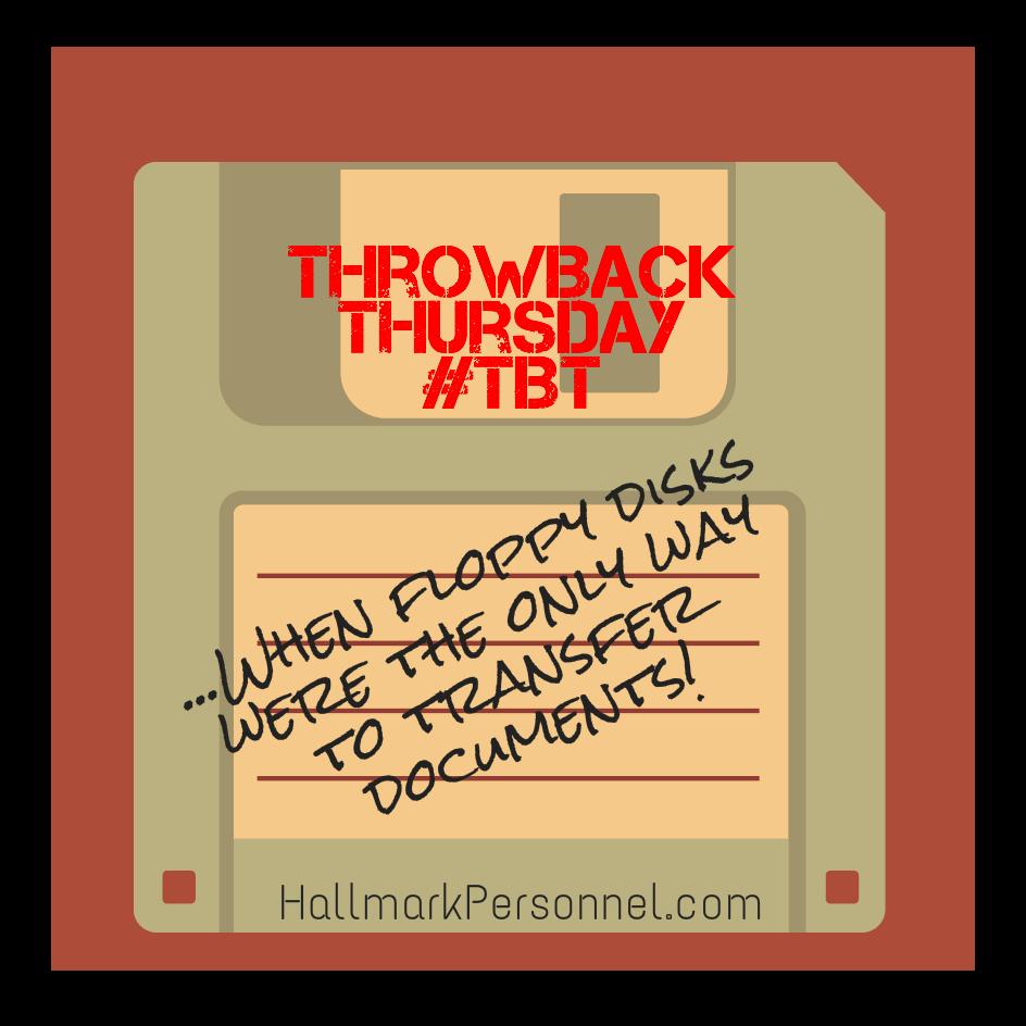 Throwback Thursday Floppy Disks Remember Tbt Www Hallmarkpersonnel Com Throwback Throwback Thursday Floppy Disk