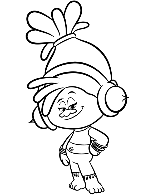 Trolls Dj Suki Coloring Sheet Poppy Coloring Page Cartoon Coloring Pages Coloring Pages