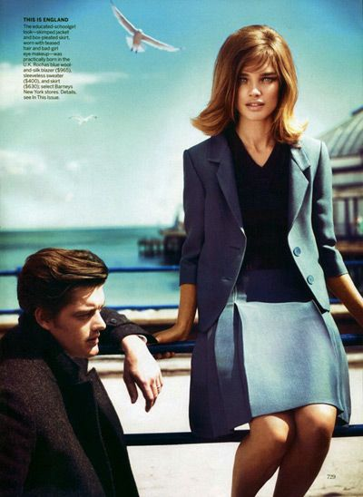 Natalia Vodianova | Vogue US September 2011    Live a luscious life with LUSCIOUS: www.myLusciousLife.com