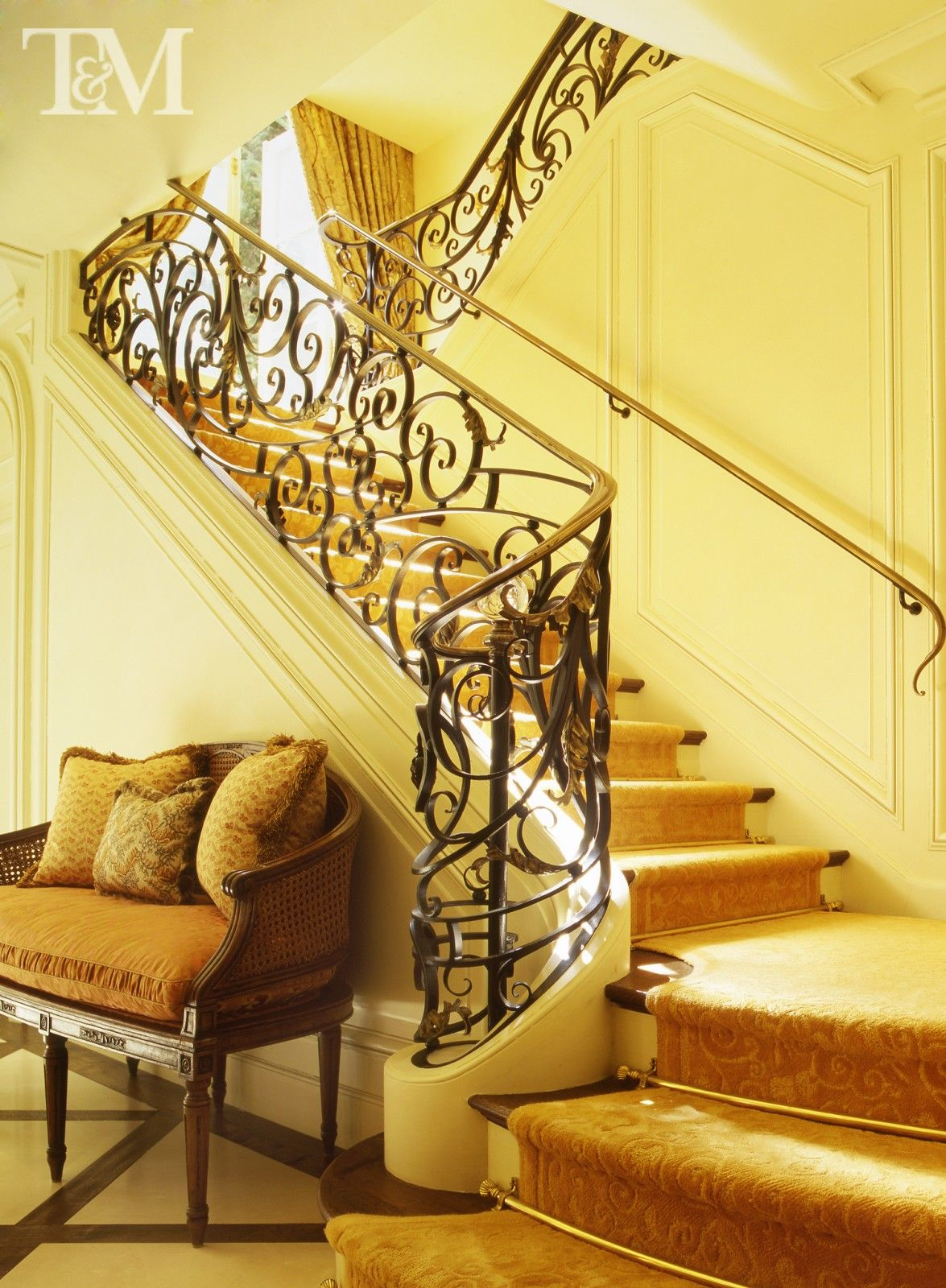 Sunny Staircase | First Impressions - Entry Halls I Love ...
