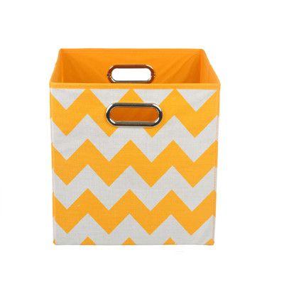 Exceptionnel Found It At Wayfair   Chevron Toy Storage Bin. Orange FabricOrange ...