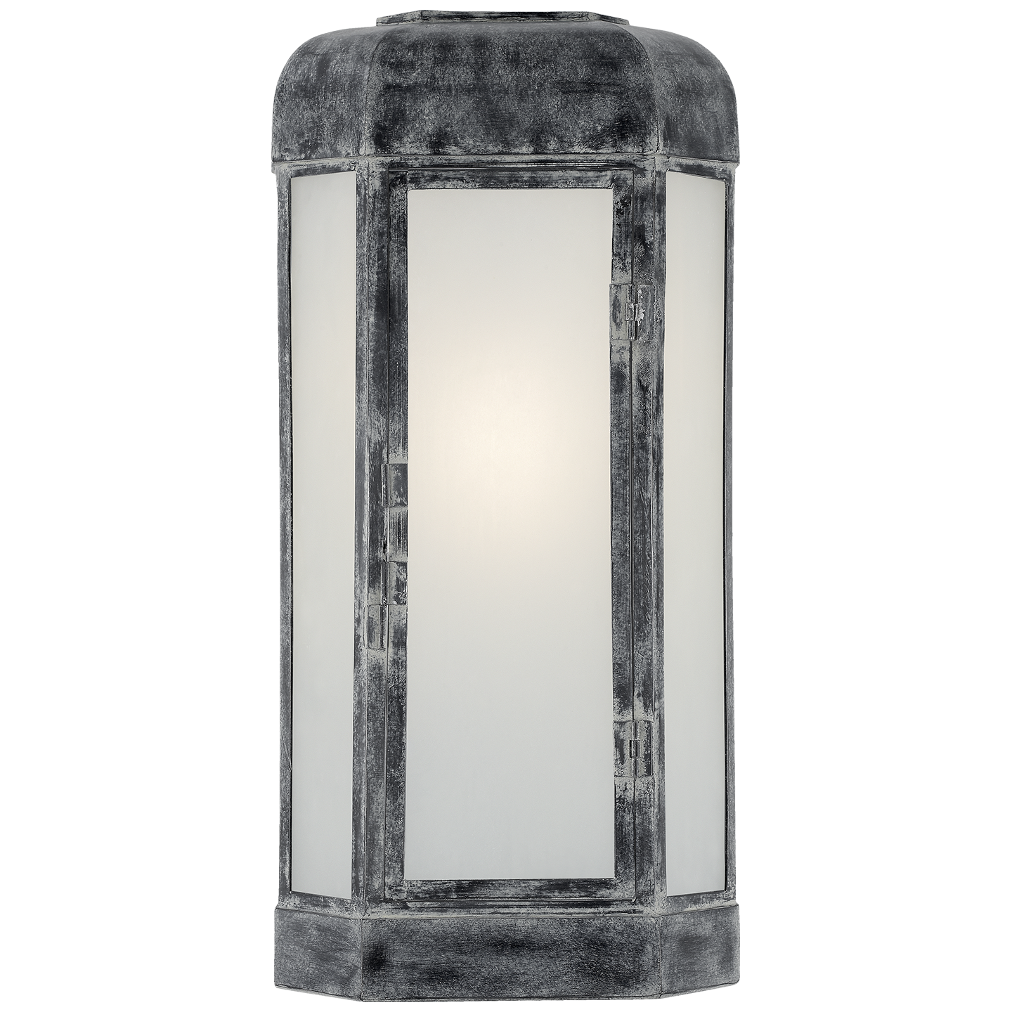 Dublin Large Faceted Sconce Visual