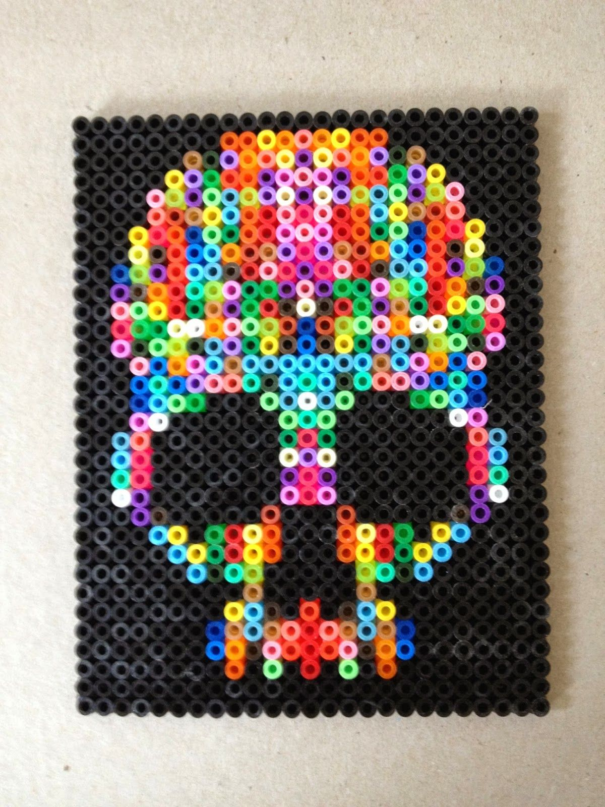 how to make perler beads without a pegboard