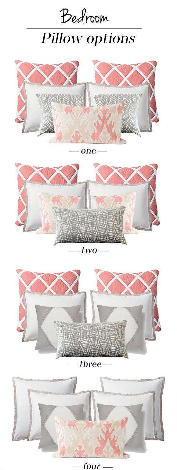 Arrumando as almofadas na sua cama! Decorative Pillows & Cushions Pinterest Bedrooms ...