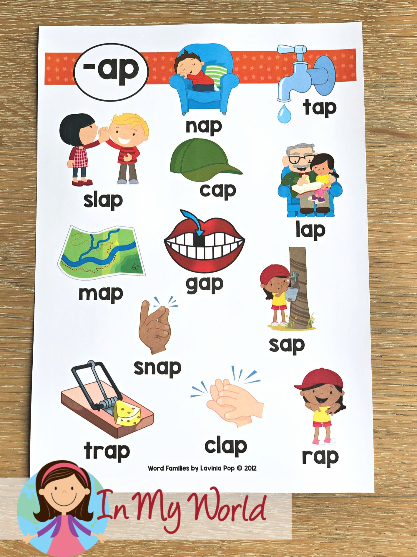 Sight Words And Word Families Week 4 In