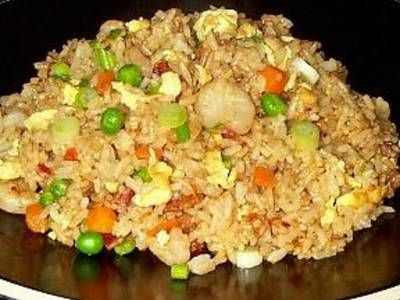 Cooked rice is combined with wok cooked carrots peas onions and chinese fried rice recipe from ifood are you looking for simple way to make chinese fried rice this recipe is perfect for you ccuart Image collections