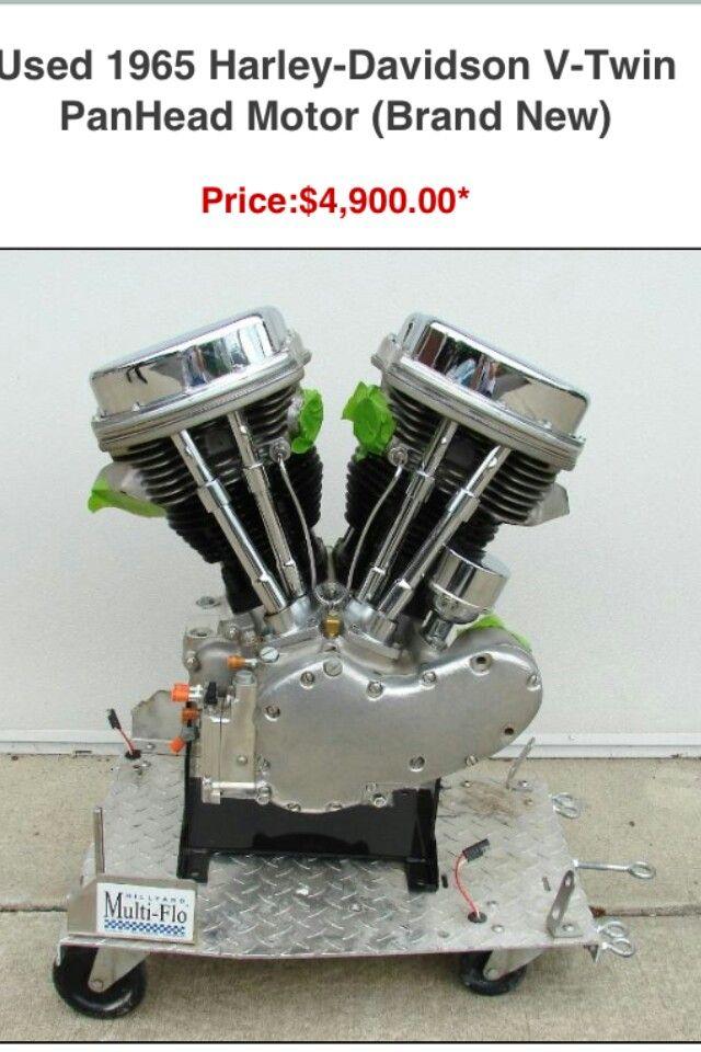 1965 panhead motor harley 39 s pinterest for Harley davidson motor co