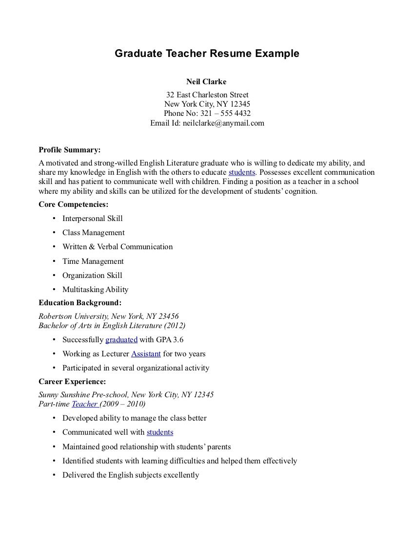 High Quality Resumes Teaching Resume Example Sample Teacher Student Writing Service In First Year Teacher Resume Examples