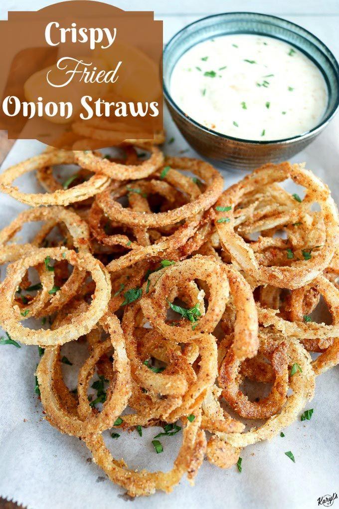 Crispy Fried Onion Straws Recipe by Karyl's Kulinary Krusade