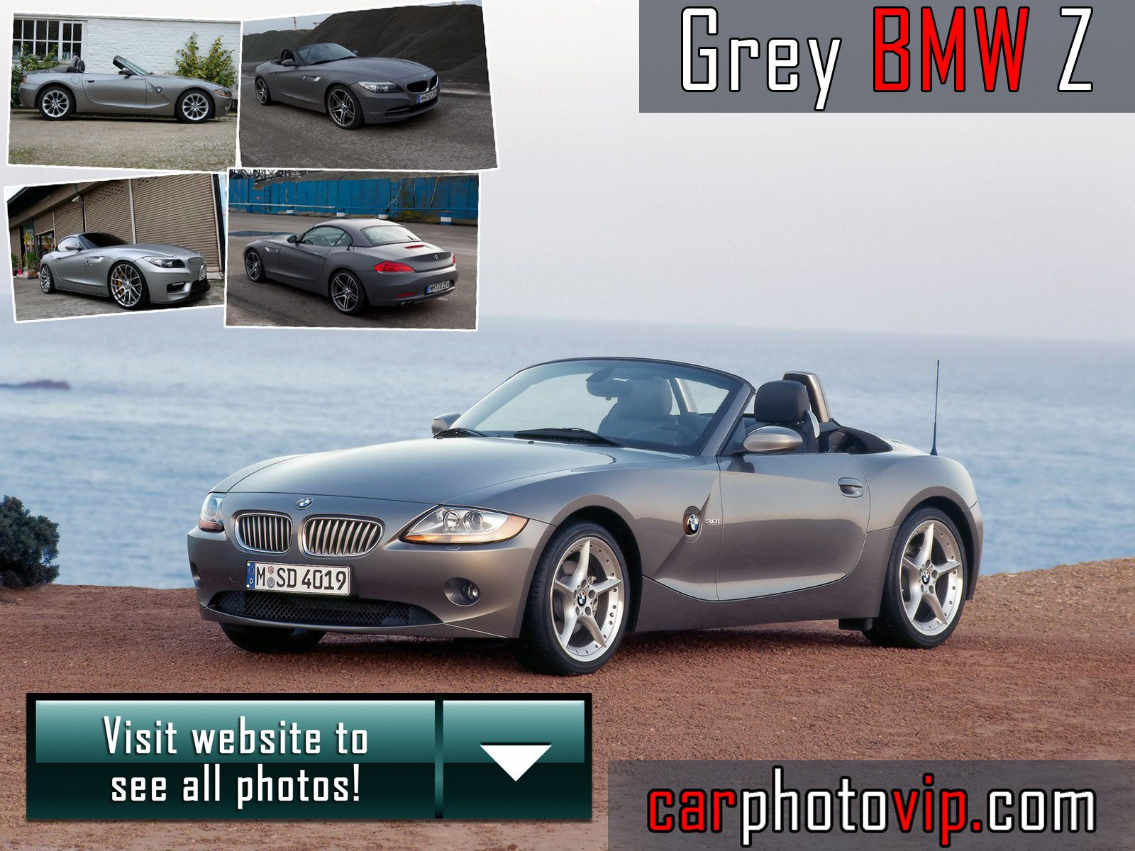 Grey BMW Z