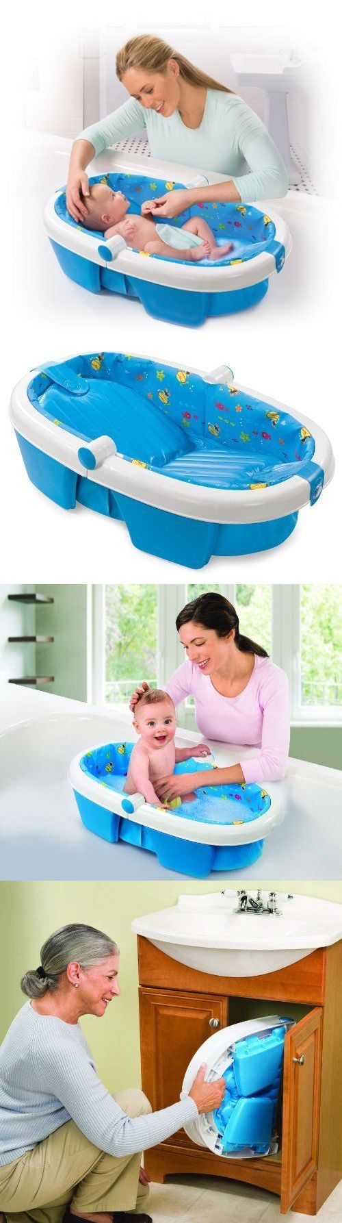 Bath Tub Seats and Rings 162024: Infant Baby Bath Tub Newborn Fold ...