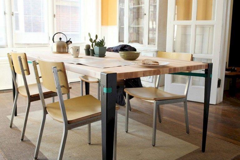104 Beautiful Farmhouse Dining Room Decor Ideas #diningroom