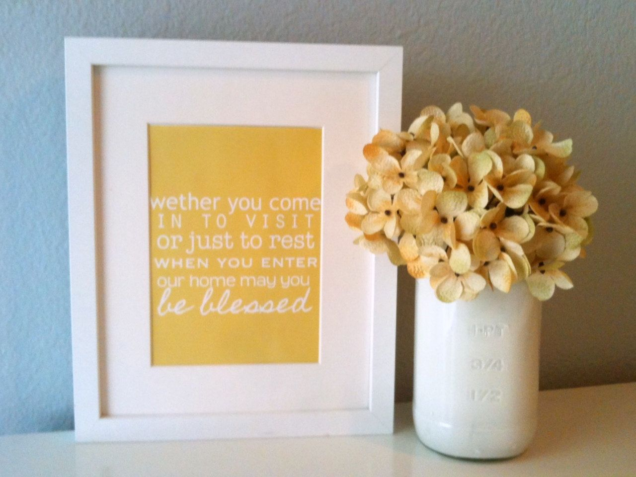 Guest Room Subway Style Blessings Print (Design Only) | Room ...