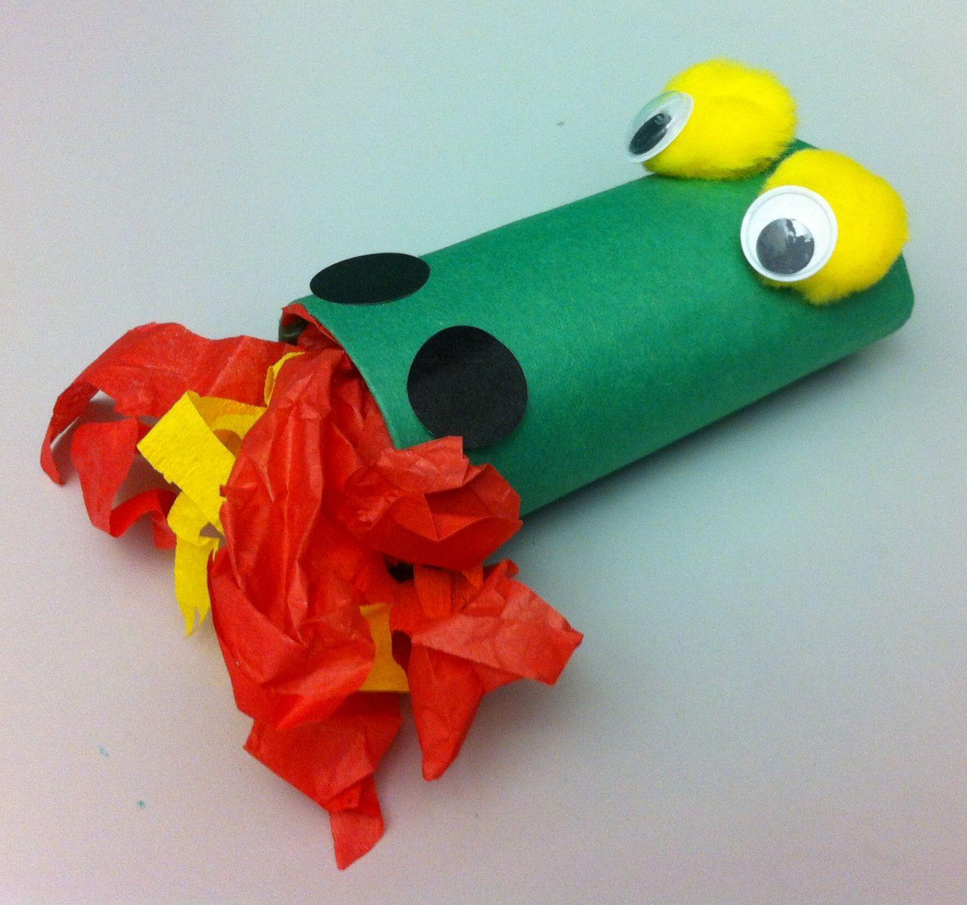 Tp Dragon Craft Preschool Crafts Storytime Dragon Crafts