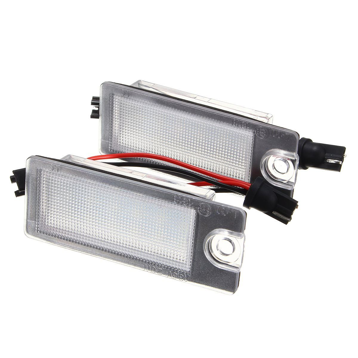 2pcs car 18 led license plate light white number plate lamp for 2pcs car 18 led license plate light white number plate lamp for volvo s80 99 fandeluxe Image collections