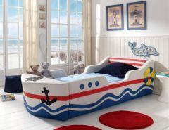 Lit Bateau Pour Jeune Corsaire Ou Pirate Lit Garcon Original Enfant