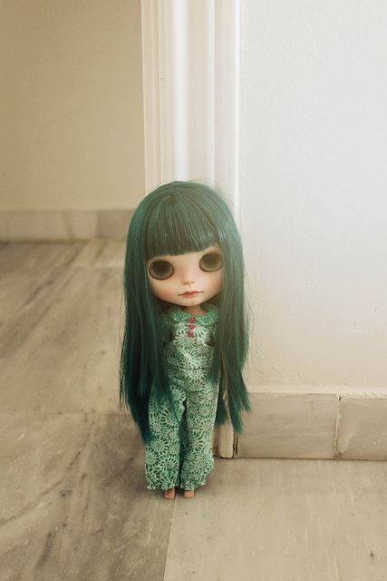Arvin ready in her travel suit by Vainilladolly, via Flickr