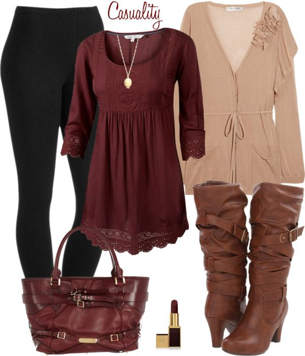 """""""Burberry & Valentino"""" by casuality on Polyvore"""