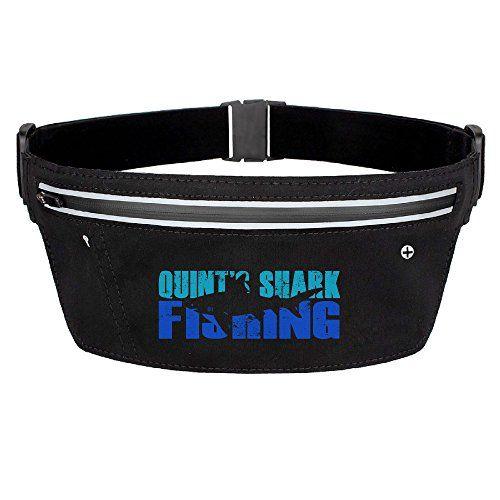 bad37581e692 Quints Shark Fishing Logo Hiking Pouch Belt Waist Packs Black * Read ...