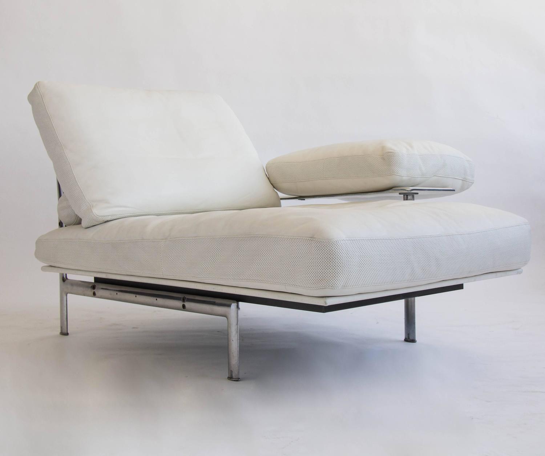Chaise Longue Classic Design Italia.Diesis Chaise Longue By Antonio Citterio For B B Italia