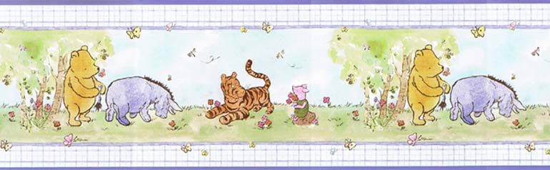 classic and winnie and pooh and wallpaper Picture shows