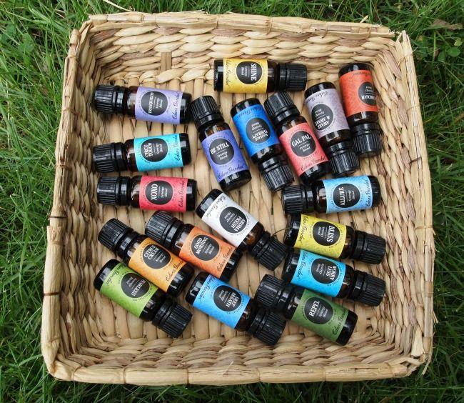 Eden's Garden essential oils synergy blends Edens garden