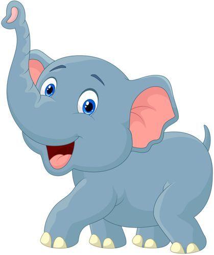 Cartoon elephant vector (11) [преобразованный].png: | Baby ...