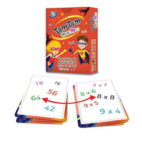Jeu pour apprendre les tables de multiplication voici une sorte de dobble version - Table de multiplication jeu ...