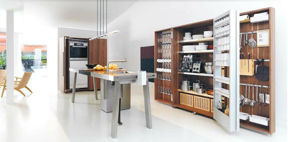 Moderne Küche / Holz / Inox / Versteckte   HAARLEM   Bulthaup