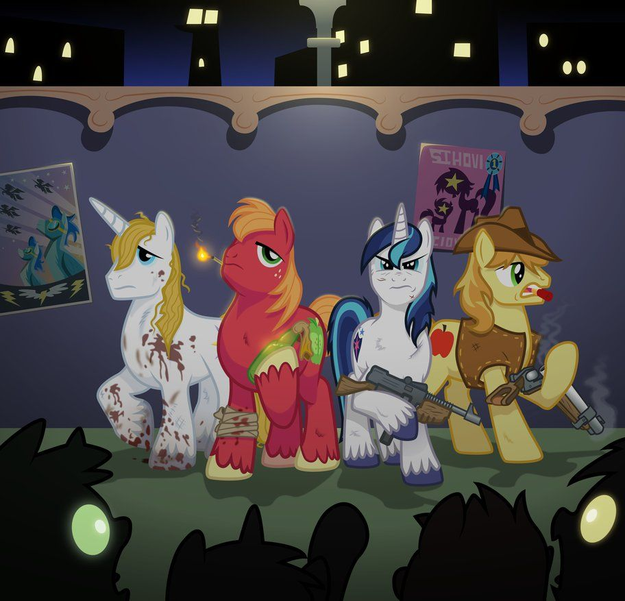 Mlp Of The Dead By Wisdom Thumbs By Starbolt 81 My Little Pony