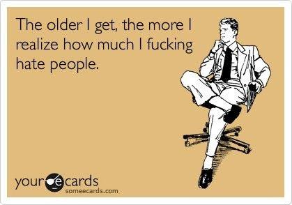 The older I get,