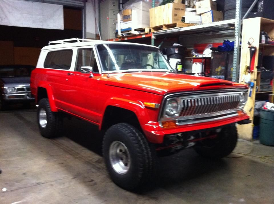 77 Jeep Cherokee 78 was the last year for that grille style 79