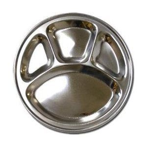 India Stainless Steel Plates Dinner Plates Stainless Steel Plate Dinner Tray