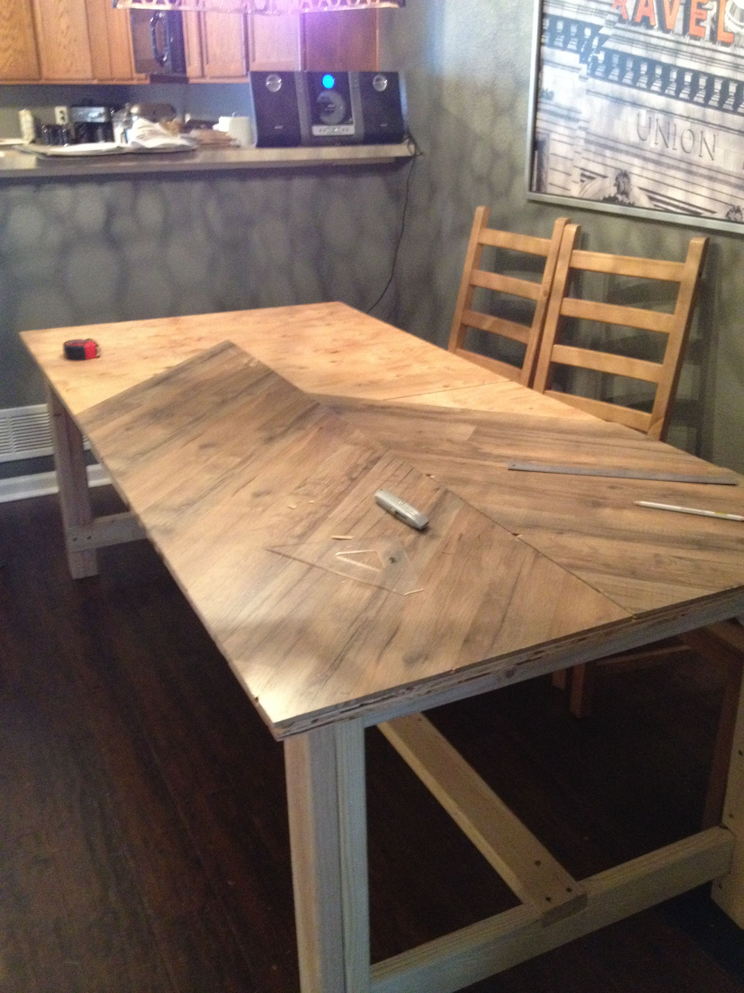 Wood Dining Tables Room Studio Apartment Design Micro Simple Diy
