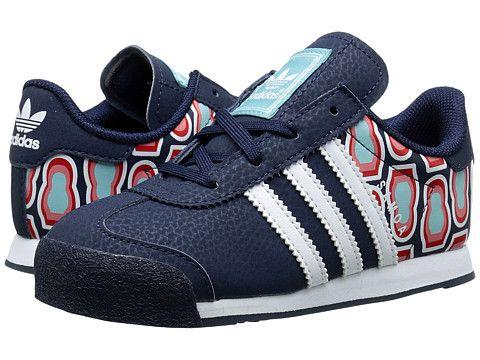 adidas Originals Kids Samoa (White/Black/White) Kids Shoes