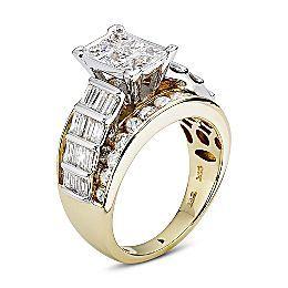 jcpenney 3 CT TW Diamond Engagement Ring joyeria