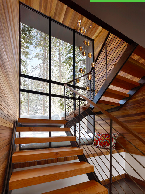 Best Spin On Floating Staircase Love Rustic Staircase 400 x 300