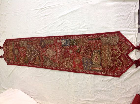 Indian Table Runner By Rajsthanart On Etsy